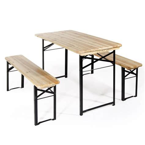 tavoli da birreria set birreria da giardino con tavolo e panche verdelook