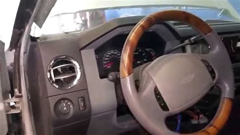 how cars engines work 2000 ford f350 instrument cluster 2013 ford f250 excursion new dash swap convencion youtube