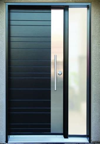 metal door designs grove wood door with stainless steel design jpg