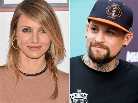 Criss Is Married Doesnt Care Dates Cameron Diaz by Cameron Diaz And Benji Madden Engaged Extratv