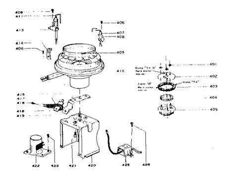 comfort glow parts comfort glow kerosene heater combustion blower assembl