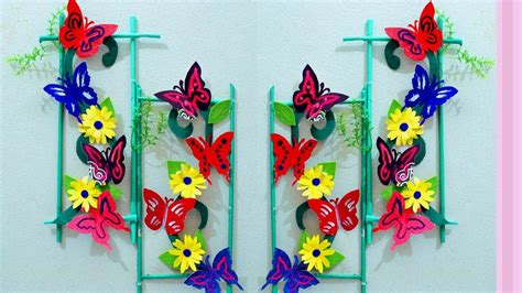 Paper Craft Decoration Home Paper Craft Ideas For Room Decoration Wall Decoration With Paper Craft Butterfly Wall