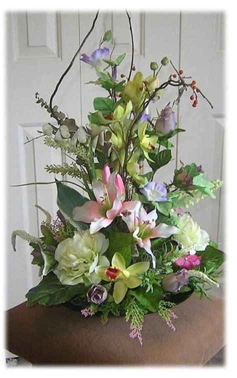 18 excellent silk flower arrangements for dining room