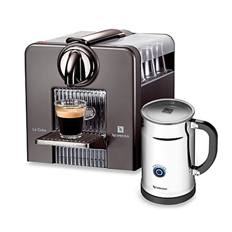 nespresso bed bath beyond nespresso le cube model ac185 automatic espresso machine