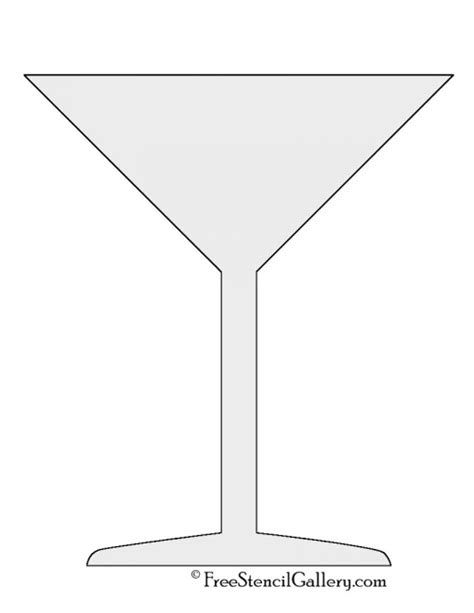 martini pumpkin carving martini glass stencil free stencil gallery