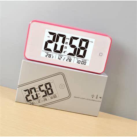 Digital Desktop Smart Clock Touch Buttom Jp9902 Whi 2010 digital desktop smart clock touch buttom jp9902 green