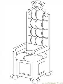 Free Printable Coloring Page Royalti Chair Peoples &gt Royal Family sketch template