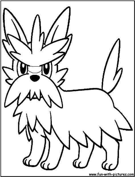 herdier pokemon coloring pages herdier pokemon coloring pages sketch coloring page