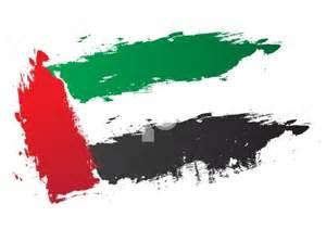 Green Country Interiors Uae Flag Vector Brush Strokes United Arab Emirates