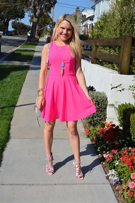 flower dresses and shoes pink dress with floral shoes styled american