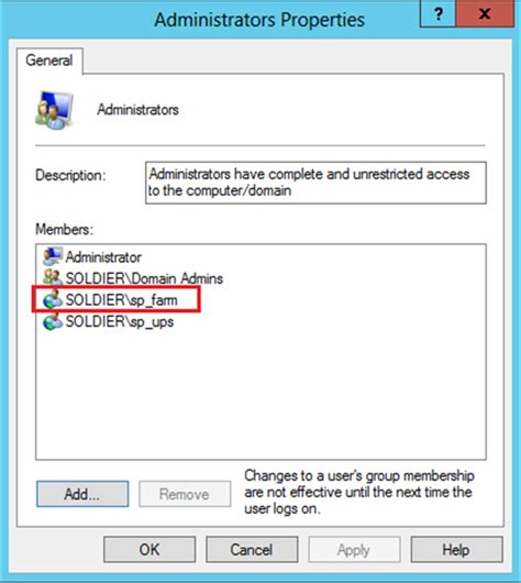 how to a local windows server 2012 how to add an account to a local administrator technet