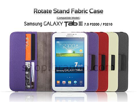 Second Samsung Galaxy Tab 3 7 0 P3200 samsung galaxy tab 3 7 0 p3200 p3210 rotate stand fabric