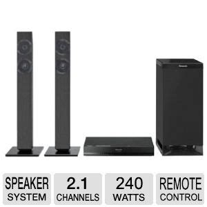panasonic 2 1 home theater system 2 1 channels 240