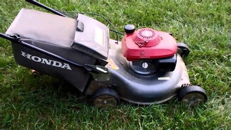 honda hrr harmony ii lawn mower   quadra cut system craigslist find august