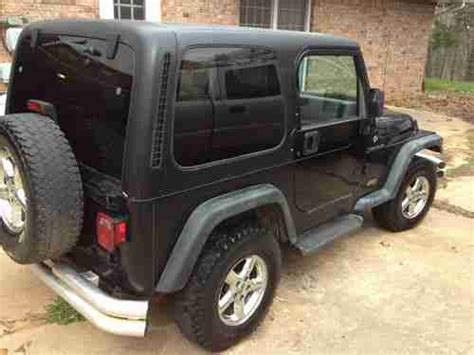 98 Jeep Tj Specs Sell Used 98 Jeep Wrangler Hardtop In Durant Oklahoma