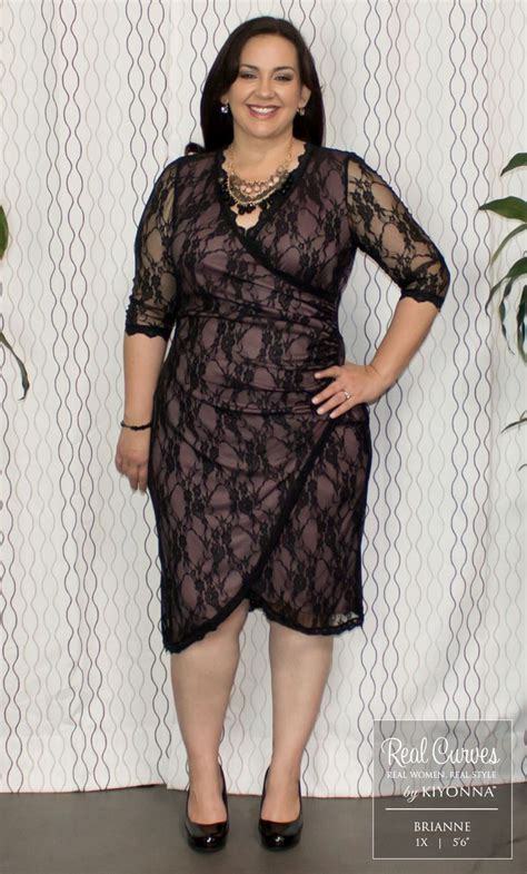 Gigi Dres Bd real curve cutie brianne 5 6 is stunning in our plus size gigi lace cinch dress a unique