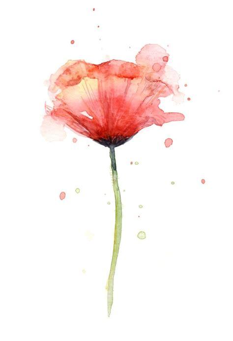 water color flower best 25 watercolor poppy ideas on