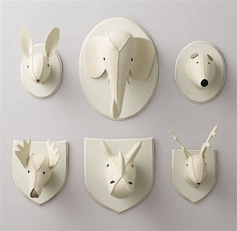 Kitchen Canisters Set fourteen stylish faux taxidermy animal heads living in a