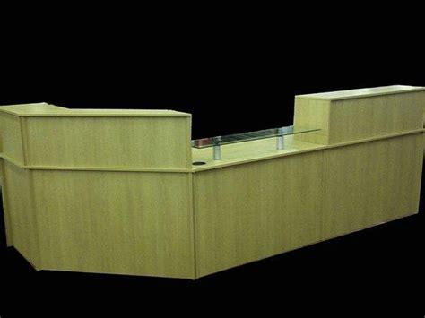 Quality Reception Desks Ref 0408 Quality Reception Desk In Oak