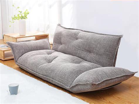 modern design floor sofa bed  position adjustable sofa
