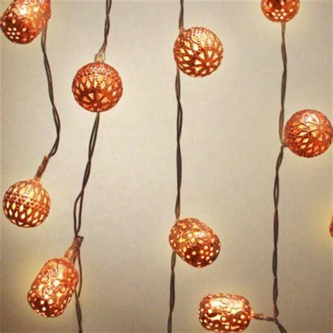 copper string lights copper galore lantern string lights