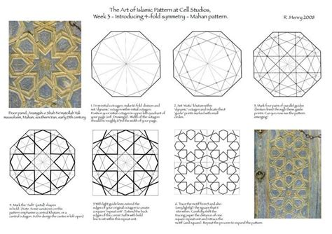 islamic pattern maker 4 fold symmetry islamic geometric pattern islamic