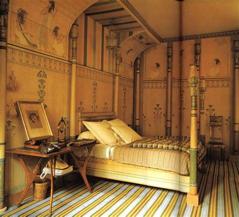history themed bedroom egyptian interior style part 1 atomorfen