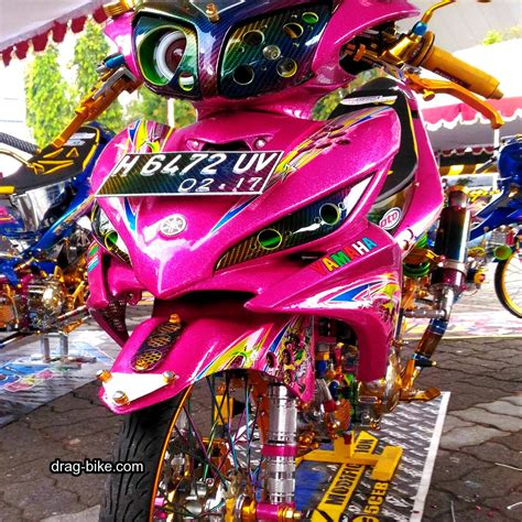 Gambar Motor Jupiter Modifikasi by Foto Gambar Modifikasi Motor Yamaha Jupiter Mx Tilan