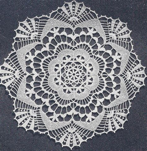 vintage lace pattern vintage crochet pattern to make cluny lace doily