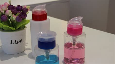 Remove Bottle Use Portable Acetone Plastic Nail Pump Buy