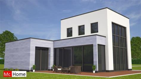 Kleine Bungalow Bouwen moderne kubistische bungalow met kleine verdieping mchome