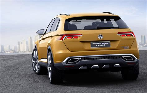 volkswagen crossblue coupe volkswagen crossblue coup 233 concept anteprima a shanghai