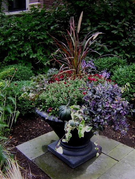 fabulous fall flower containers 867 best images about flowers gardens containers