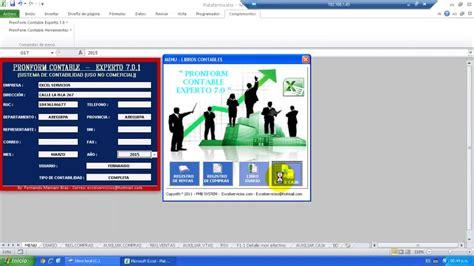 tutorial excel contabilidad sistema de contabilidad en excel gratis tutorial en