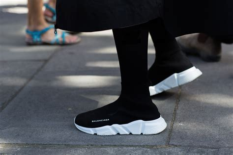 Sepatu Balenciaga Speed Trainer balenciaga s speed trainer arrives in four new vibrant