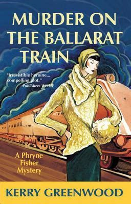 Murder On The Ballarat what i read last month july seriously seriously