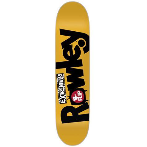 Flip Skateboard Decks by Flip Rowley Extremely Skateboard Deck Evo Outlet