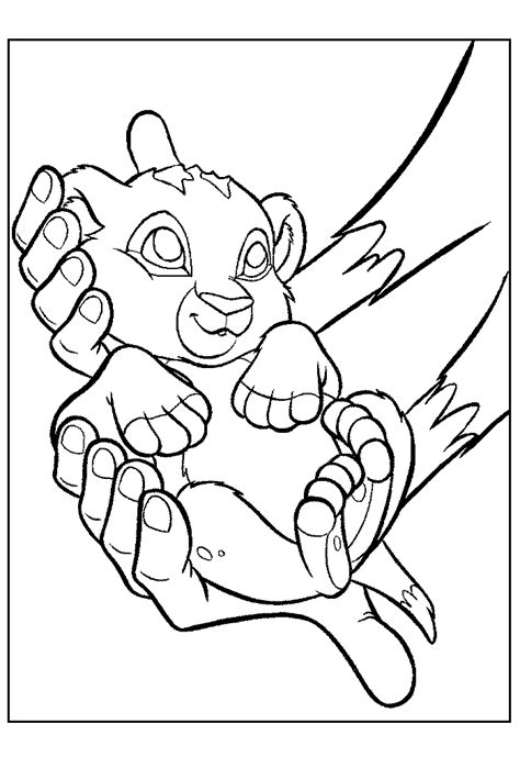 Disney King Coloring Pages by Disney The King Coloring Pages Coloring Home