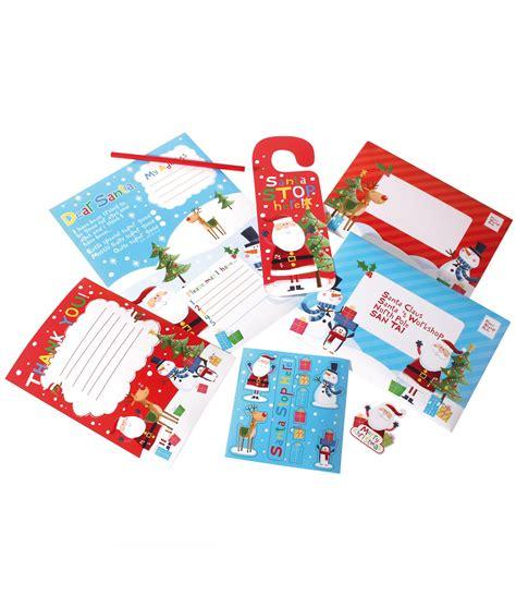 Letter Response Kit Letter To Santa Pack Cancer Research Uk Shop