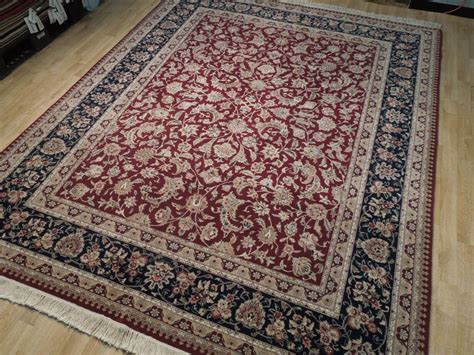 burgundy area rugs 8 x 10 wool silk rug burgundy 8x10 area rug handmade