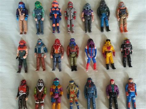 figure lot m a s k figures lot mask with helmets 80s