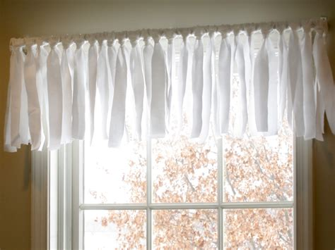 No Sew Window Valance diy easy no sew window valance pottery barn inspired