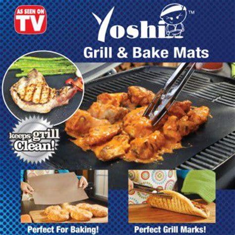 yoshi grill bake non stick grill mat