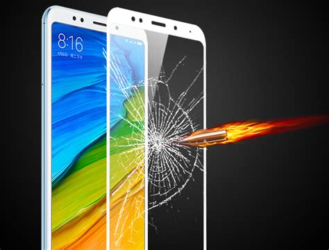 Xiaomi Redmi 5 Plus Ume Tempered Glass Anti Gores Kaca xiaomi redmi 5 plus cover protection tempered glass