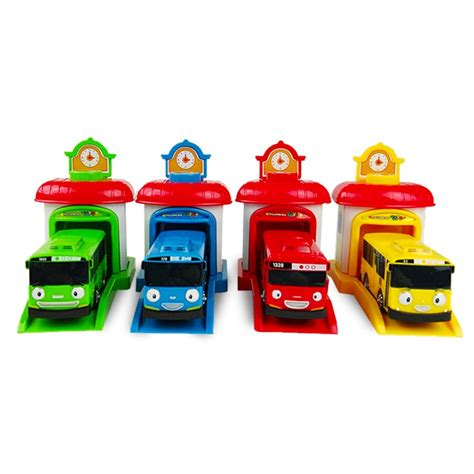 Tayo Garasi Set 4pcs 4pcs set korean garage tayo the