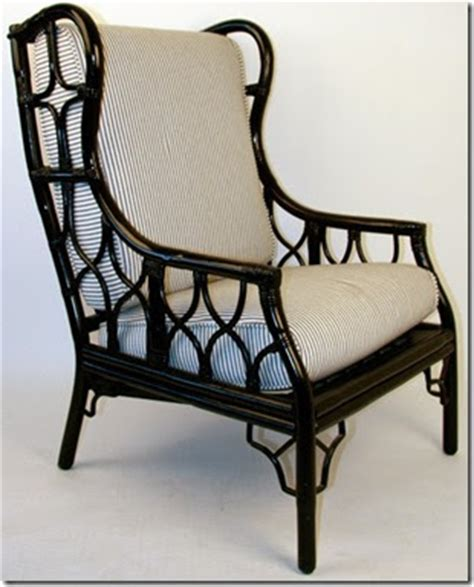 wicker wingback dining chair cottage cabin let s just wing it