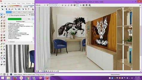 vray sketchup mirror material tutorial engraved mirror in vray sketchup youtube