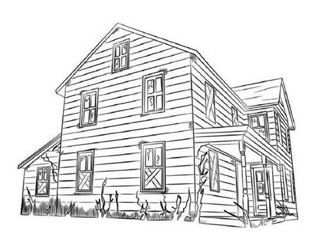 coloring pages big house colour drawing free wallpaper big house coloring drawing