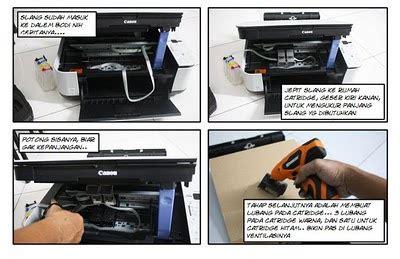 Printer Di Computer City Makassar cara memasang infus printer canon mp 287 surya computer makassar
