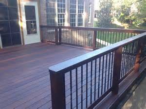 Aluminum Handrail Ipe Brazilian Hardwood Decking Is Becoming Popular For
